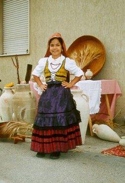 IL costume femminile di Sanluri